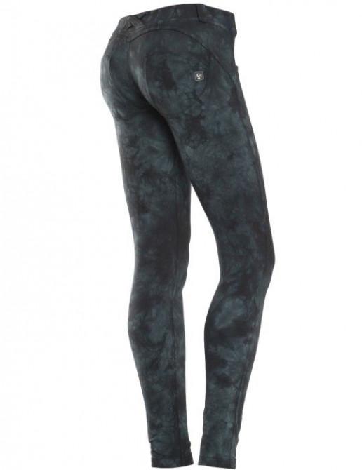Freedy kalhoty batikované, skinny střih