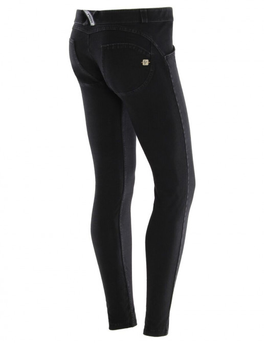 Freddy jeans černé, nízký pas, 2017